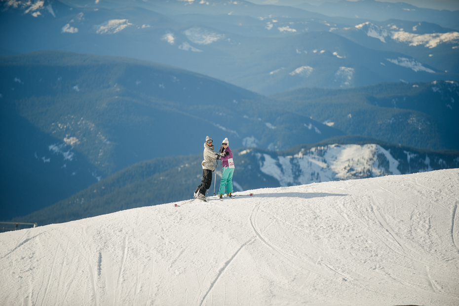 Just married mt hoot ski