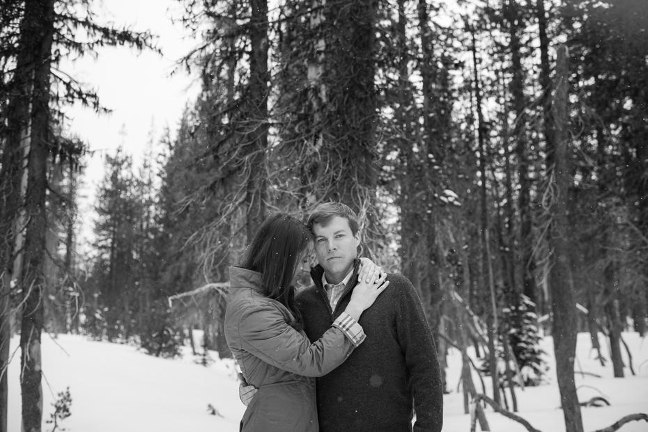Mt. bachelor oregon engagement photos