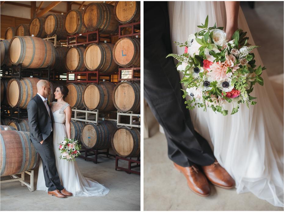 Wedding photography at maysara winery