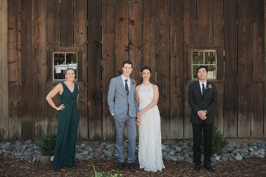 Julie Ben Tin Roof Barn Wedding
