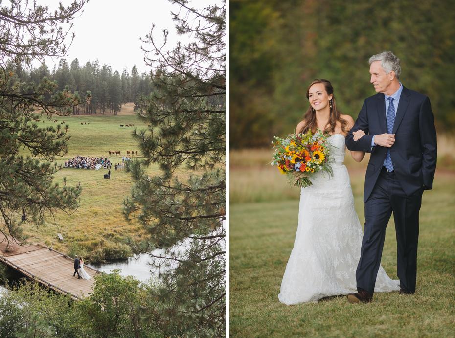 064 house on metolius central oregon wedding