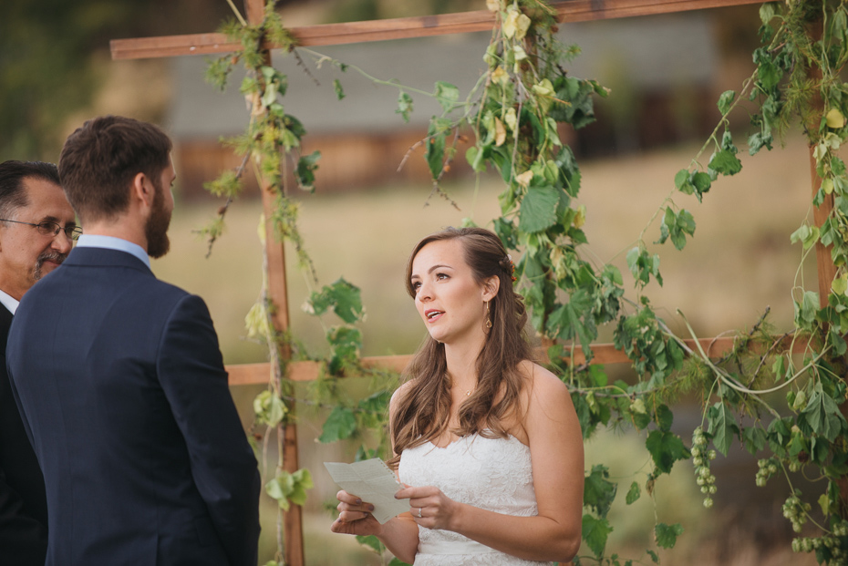 070 house on metolius central oregon wedding