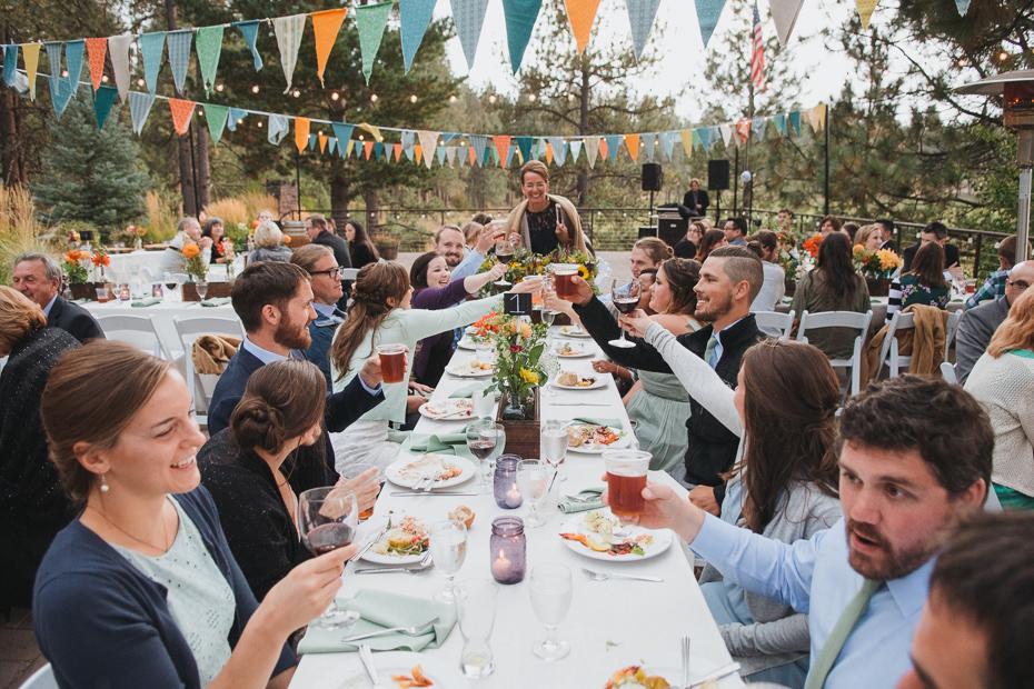 083 house on metolius central oregon wedding