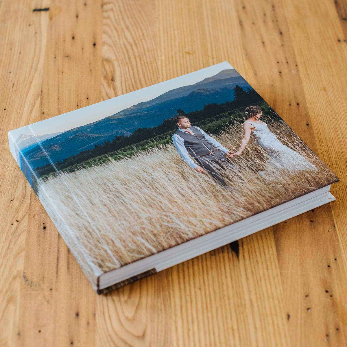 Signature Album with Custom Photo Cover