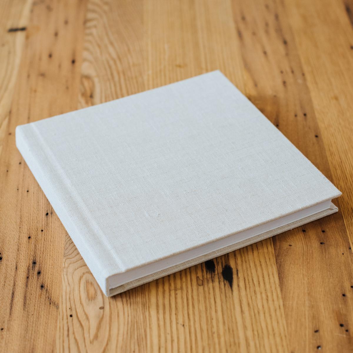 Signature Album with Linen Cover