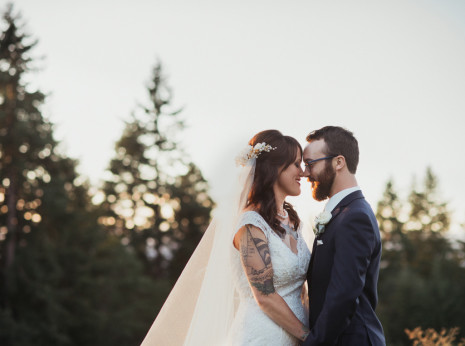 054 mount hood organic farms wedding with masks
