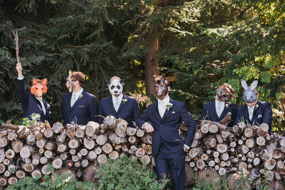 081 mount hood organic farms wedding with masks