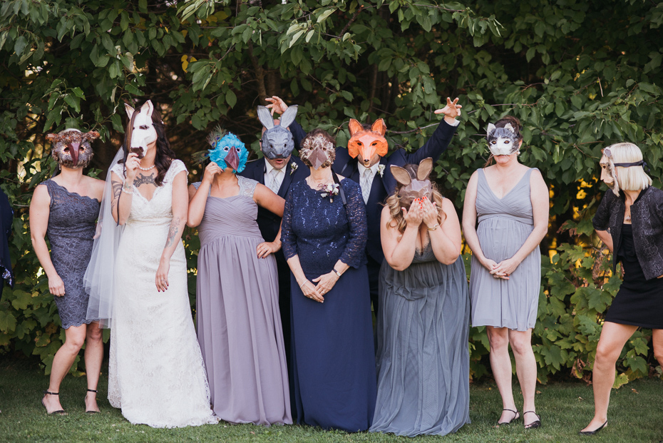 084 mount hood organic farms wedding with masks