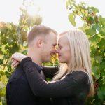 Hayley + Austin / Oregon Vineyard Engagement